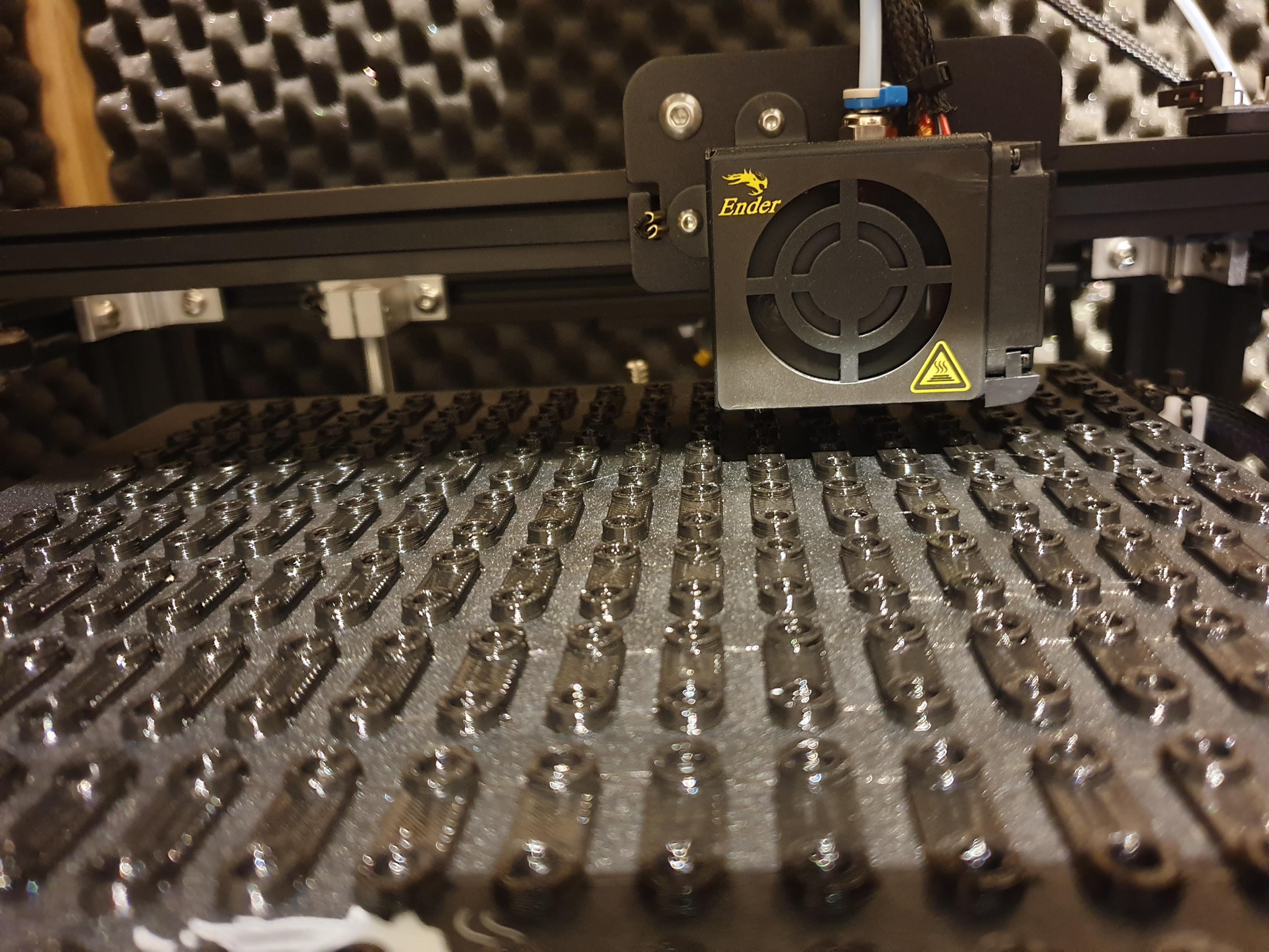 3Dprinten van kabelbinders