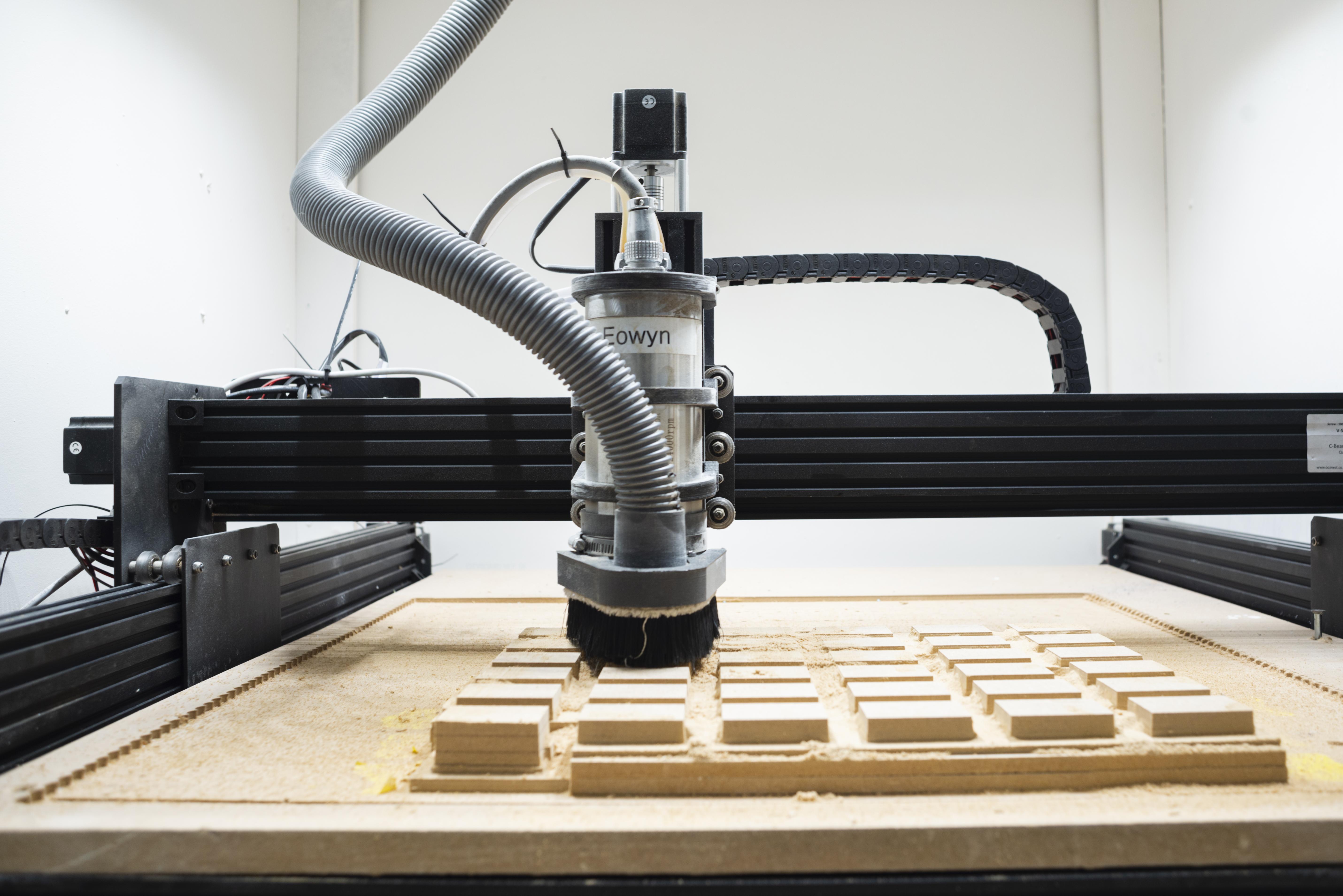 CNC Workbee router voor het frezen van hout